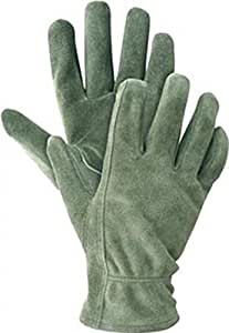 Briers washable gardener olive gardening gloves size small for Gardening gloves amazon