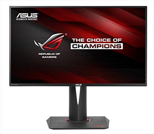 ASUS Gamingモニター 27型 ワイドディスプレイ ROG SWIFT ( フリッカーフリー / 応答速度4ms / 2,560×1,440 / G-SYNC / スリムベゼル / Displayport×1 HDMI×1 / 3年保証 ) PG279Q