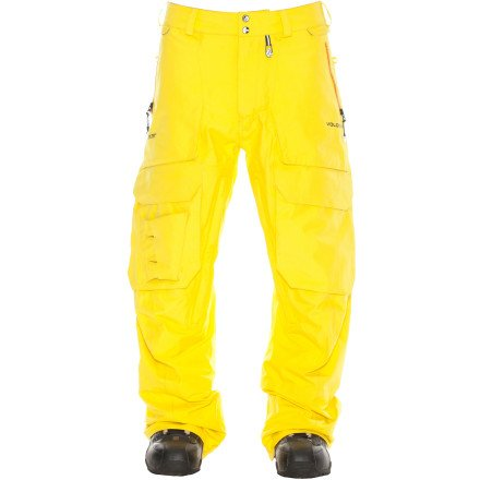 Volcom Landvick Tds Goretex Pant - Color:Yellow - Talla:M - 2014