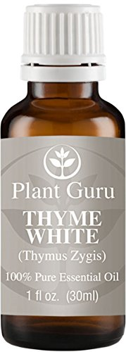 Thyme (White) Essential Oil. 30 ml (1 oz) 100% Pure, Undiluted, Therapeutic Grade.