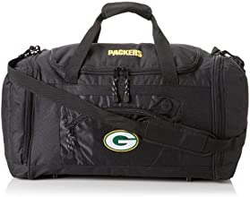 NFL Roadblock Duffle  ColorGreen Bay PackersBlack by Concept One Accessories
