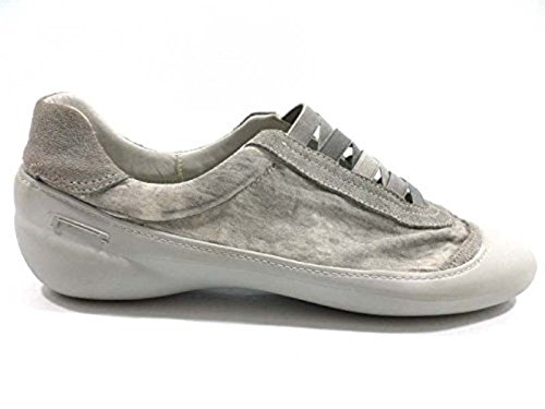 scarpe donna PIRELLI 36 EU sneakers grigio tessuto gomma AY957