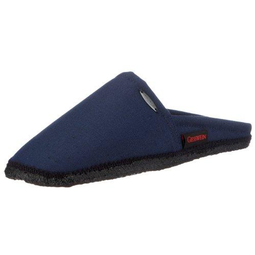 Giesswein Villach 411044765, Pantofole unisex adulto, Blu (548 / dk.blau), 42