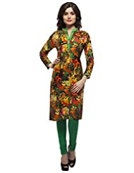 Elearray Women's Viscose Regular Fit Kurti