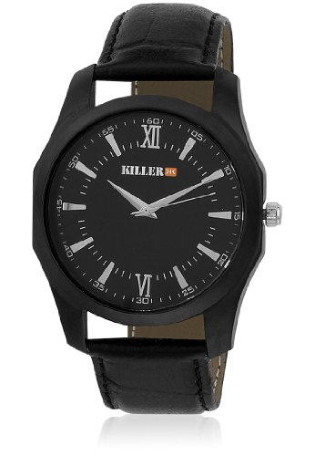 Killer Black Dial Men's Watch KLW180D