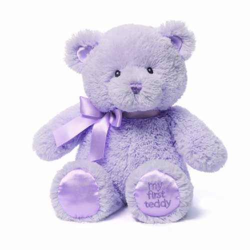 Gund My First Teddy Bear Baby Stuffed Animal, 10 Inches front-790713
