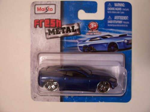 Maisto Fresh Metal Die-Cast Vehicles ~ V7 (Metallic Blue)