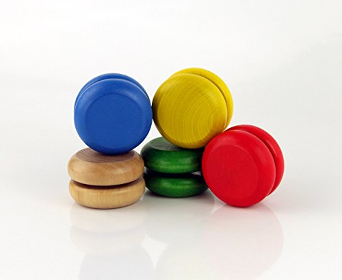 Aeromotion Classic Wooden Yo Yo Assorted Colors