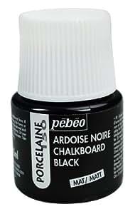 Pebeo Porcelaine  China Paint  Milliliter Bottle Chalkboard Black
