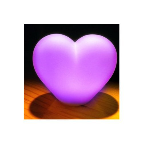 Color Changing Led Lmap Heart Love Romantic Wedding Favor Mood Lamp Night Light