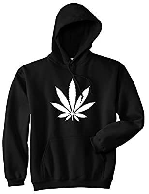 Kings Of NY Weed Leaf Marijuana Cannabis Rasta Pullover Hoodie