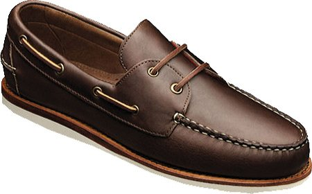 Allen Edmonds Men's Westbrook Boat shoe type,Brown,9 D US