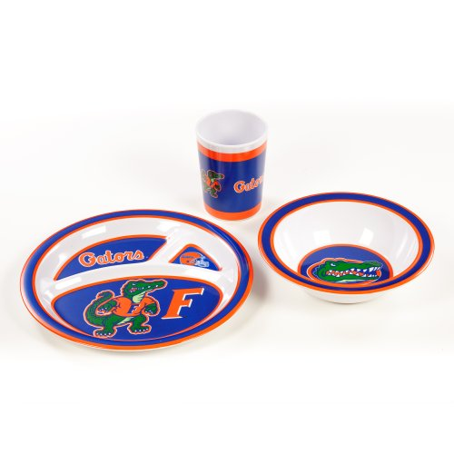 NCAA Florida Gators Kid's Dish Set (3-Piece)