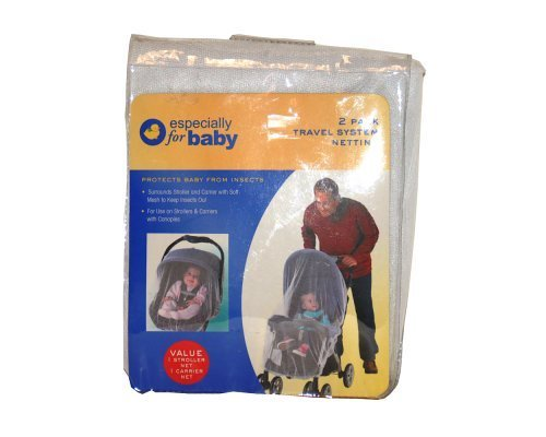 2 Pack Travel System Netting - 1