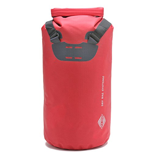 Aqua Quest Tote - 100% Waterproof Dry Bag Backpack - 20 L RipStop Nylon - Lightweight, Durable, Versatile, Best Value - Red (Aqua Quest 20l compare prices)