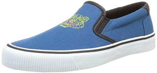 Kenzo - Velvet, Sneakers da uomo, blu (bleu canard), 44