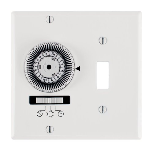 Intermatic Km2St-2G 2 Gang Toggle Spst 24-Hour Mechanical Timer
