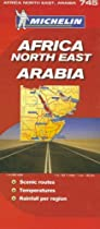 Michelin Africa  North East & Arabia / Michelin Afrique Nord-Est Arabie (Michelin Maps) (Multilingual Edition)