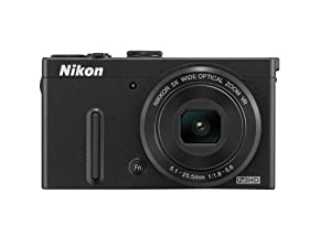 Nikon COOLPIX P330 12.2 MP Digital Camera with 5x Zoom (Black)