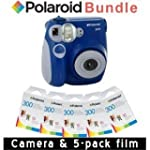 Polaroid PIC-300 Instant Camera in Bl...