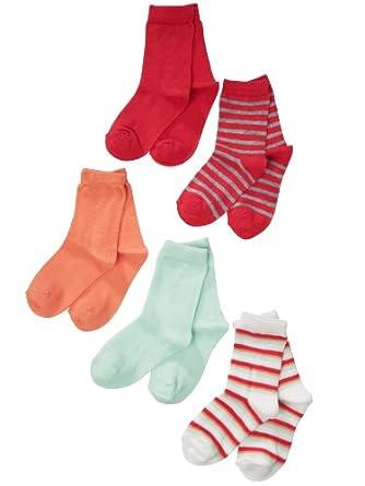 NAME IT Mädchen Socken Strümpfe 5 Paar MAR 213 Gr.36-39
