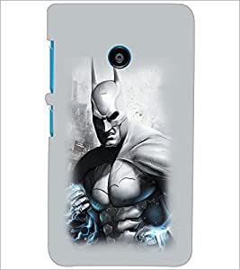 PrintDhaba BatMan D-2177 Back Case Cover for NOKIA LUMIA 530 (Multi-Coloured)