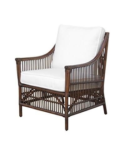 Panama Jack Bora Bora Lounge Chair With Cushion, Antique