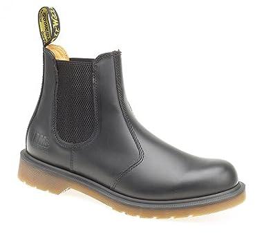 Mens Dr Martens AirWair Black Dealer Chelsea Boots 8