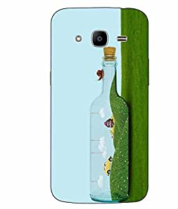 Case Cover Grass Printed Green Hard Back Cover For Samsung Galaxy J2 2016 Edition / J2 Pro