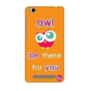 Designer Xiaomi Redmi 3 Case Cover Nutcase-Owl Be There