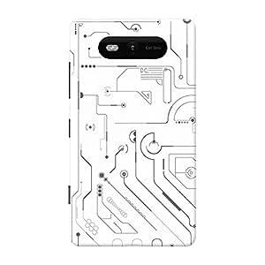 Mobile Back Cover For Nokia Lumia 820 (Printed Designer Case)