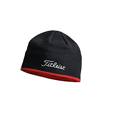 New Titleist Golf Winter Hat Black