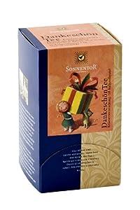 Sonnentor Dankeschön-Kräutertee Doppelkammerbeutel, 1er Pack (1 x 27 g) - Bio