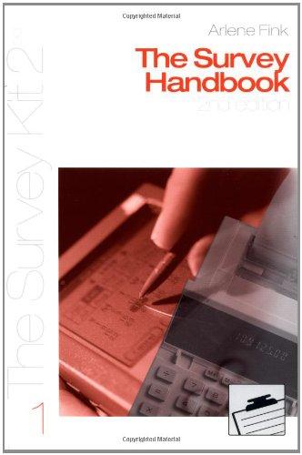 The Survey Handbook 2nd edition