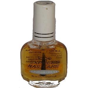 Vernis à Ongles - Express Manucure - Protège Vernis - Gemey Maybelline