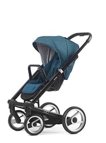 Mutsy Igo Lite Stroller, Black/Aqua