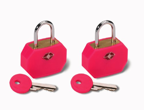 lewis-n-clark-lewis-n-clark-2er-set-kleines-tsa-vorhangeschloss-pink