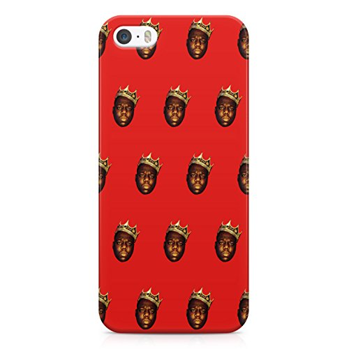 Notorious Big Biggie Smalls Crown NY King Hard Plastic Snap Case Cover For iPhone 5 / iPhone 5s Custodia