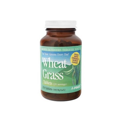 Pines International  Wheat Grass Tabs 500 