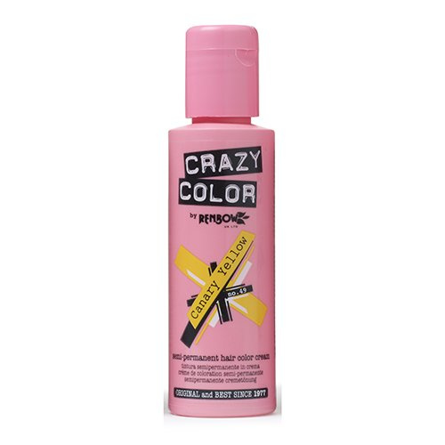 Crazy Color Hair Color - Canary Yellow 49