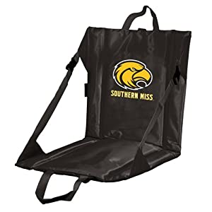 Ncaa Stadium Beach Chair With Cushion Ncaa Team Smu by Logo Chairs