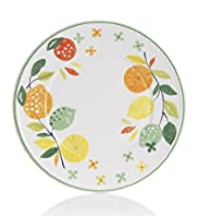 Palermo Floral & Leaf Dining Plate