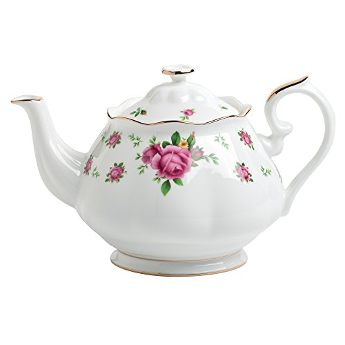 Royal Albert New Country Roses Formal Vintage Teapot (Old Country Roses Teapot compare prices)