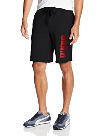 PUMA Mens Graphic Sweat Short by PUMA