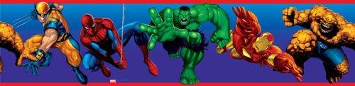 RoomMates RMK1153BCS Marvel Heroes Peel & Stick Border