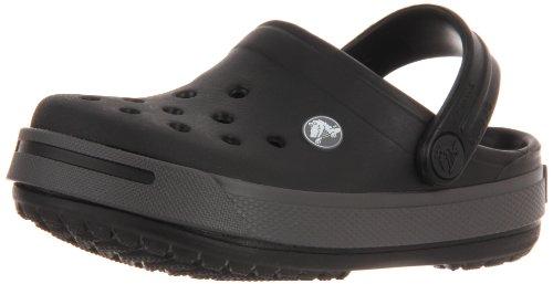 Crocs - - Crocband Kids II Unisex: Schuhe, EUR: 22-24, Black/Graphite