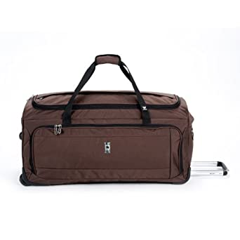 Delsey Luggage Helium Breeze 4.0 30 Inch Trolley Duffel, Brown, One Size