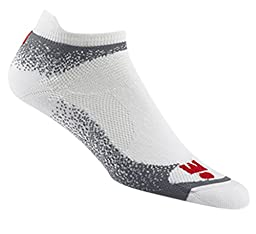 Wigwam Men's Ironman Flash Pro Low Cut Running Socks, Grey, Medium
