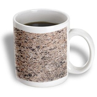 Toryanne Collections Granite - Ghibli Beige Granite Print - Mugs - 15Oz Mug (Mug_97949_2)