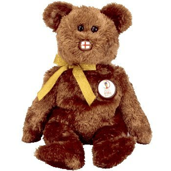 TY Beanie Buddy - CHAMPION the FIFA Bear ENGLAND